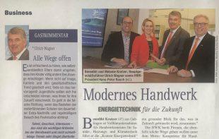 Presseartikel Kratzer-Energietechnik